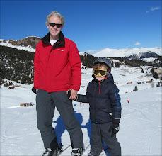 Photo: Vader en zoon