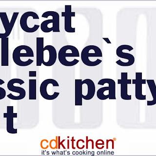 Applebee's Classic Patty Melt.