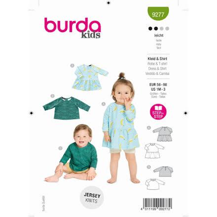 Burda 9277 - Klänning & Topp