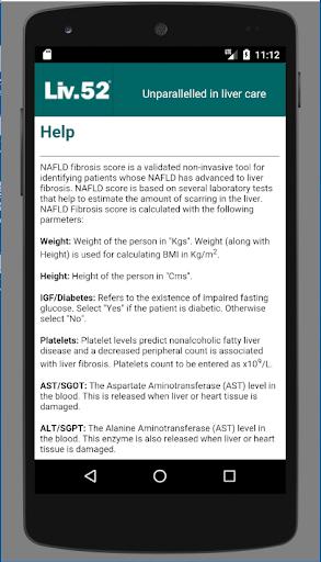 Liv52 Fibrosis Calculator 1.0 screenshots 3