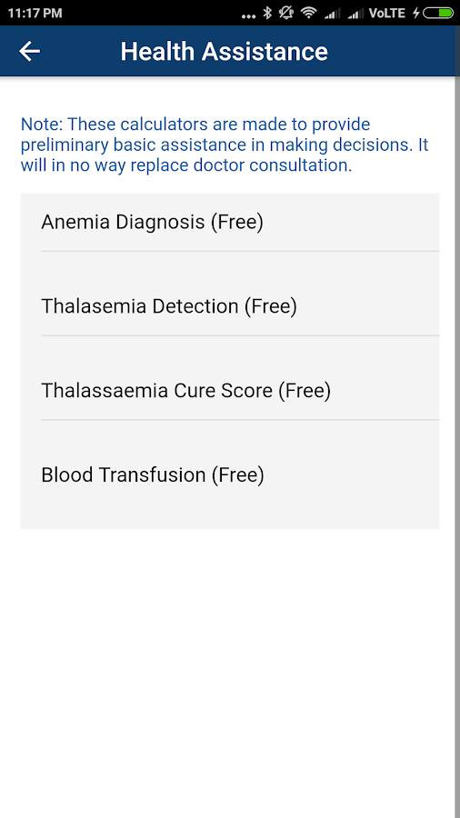 Appment Patient app- screenshot