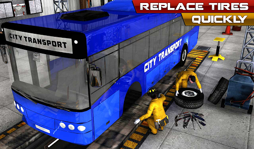 模擬必備免費app推薦|バスメカニックオートリペアショップ Bus Mechanic線上免付費app下載|3C達人阿輝的APP