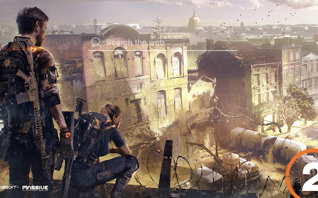 The Division 2 HD Wallpapers Tab Theme