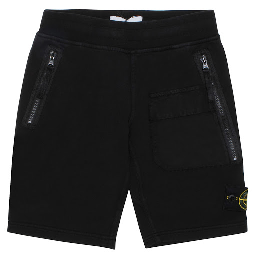 Primary image of Stone Island Cotton Zip Shorts