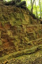 Photo: A Mecseknádasdi Homokkő Formáció szép padjai
