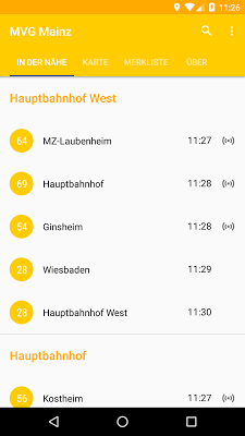 MVG Mainz - screenshot