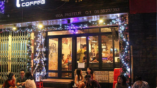 Thiết kế quán cafe 24/7 tại Paster HCM