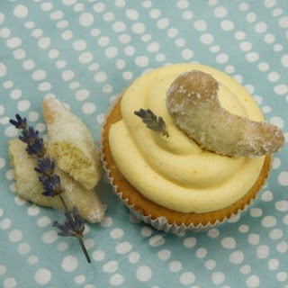 Vanillekipferl-Cupcakes