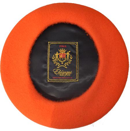 Boinas Dame Orange