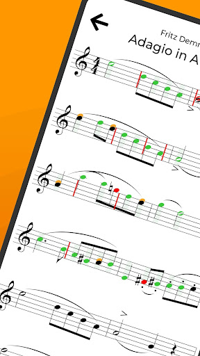 tonestro for Trumpet - practice rhythm & pitch 2.12 screenshots 1