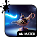 Magic Lamp Animated Keyboard + Live Wallpaper Icon
