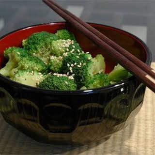 Sesame Broccoli Salad.