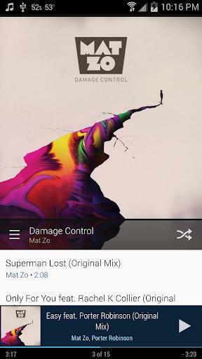 Cloudskipper Music Player screenshot 5