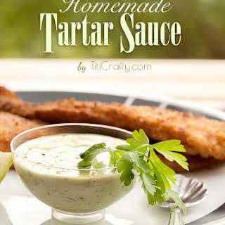 Homemade Tartar Sauce.