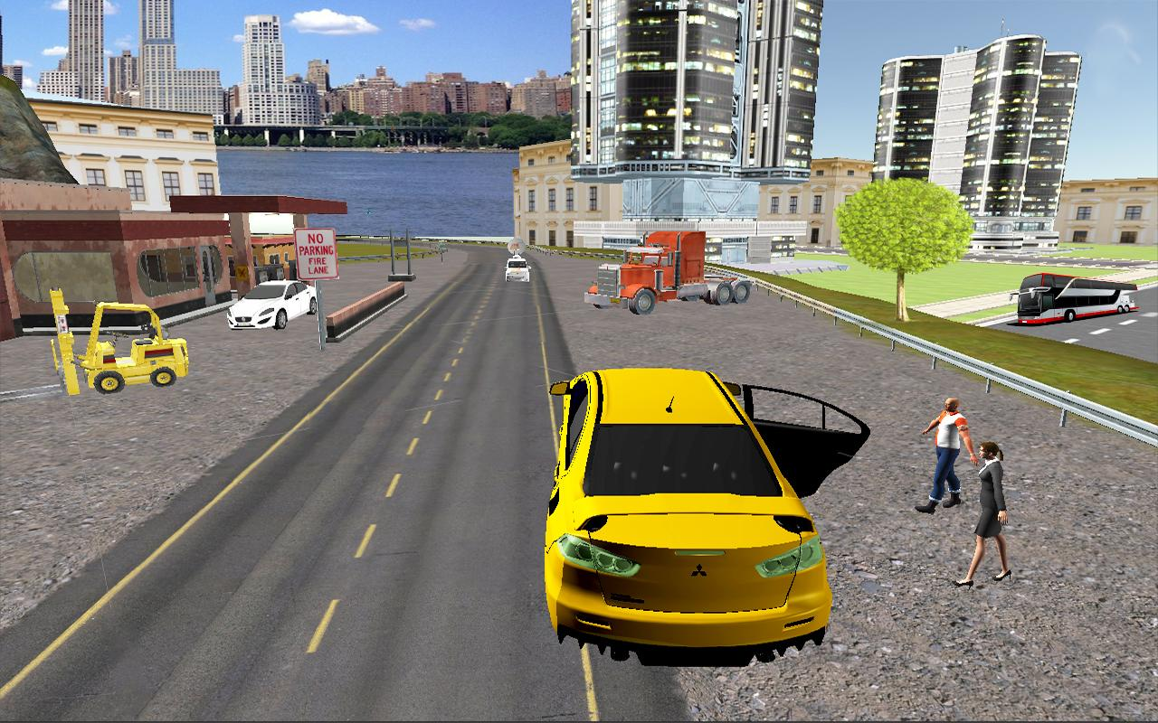Big-City-Taxi-Drive-Simulation 23
