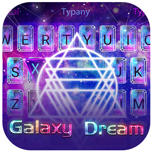 Galaxy Dream Theme&Emoji Keyboard