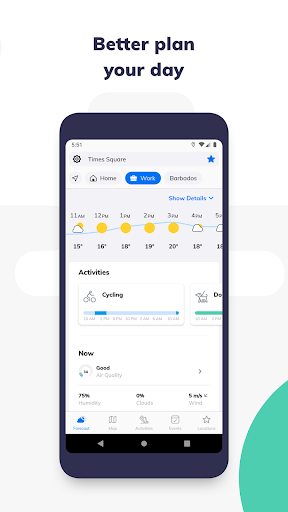 Weather Assistant by ClimaCell screenshot 4