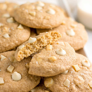 The Ultimate Healthy White Chocolate Macadamia Nut Cookies.