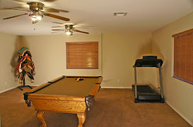 Game room in 2 acre horse property in San Tan Valley