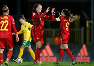 """Tine De Caigny scoorde vijf keer in heenmatch tegen Litouwen: """"Wat het voornaamste is?"""""""