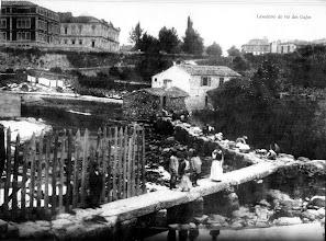 Photo: Pasais no río Gafos