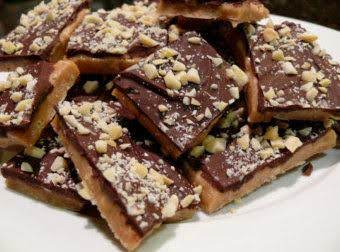 Old Fashioned English Almond Toffee