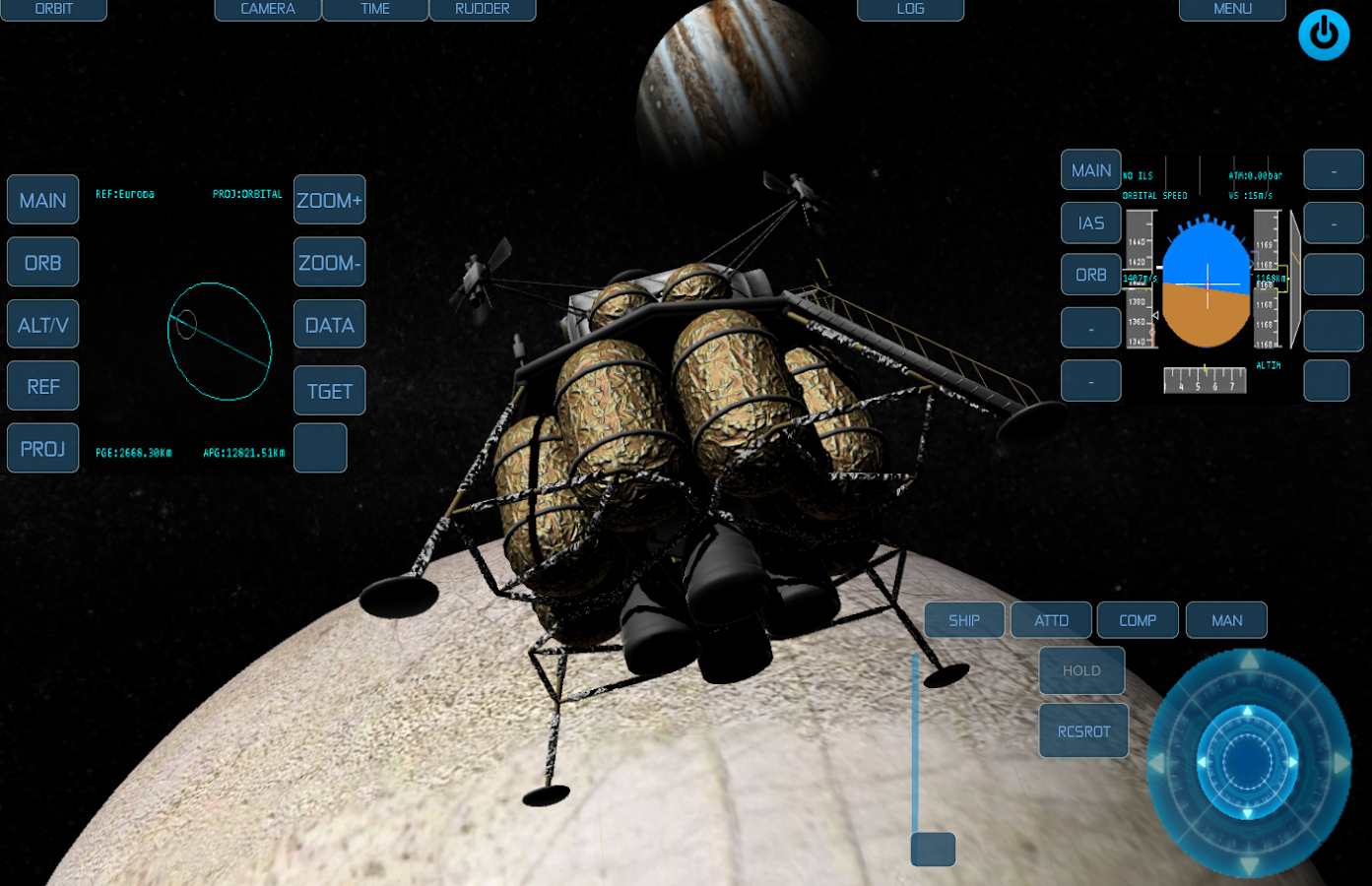 orbiter space flight simulator how to play