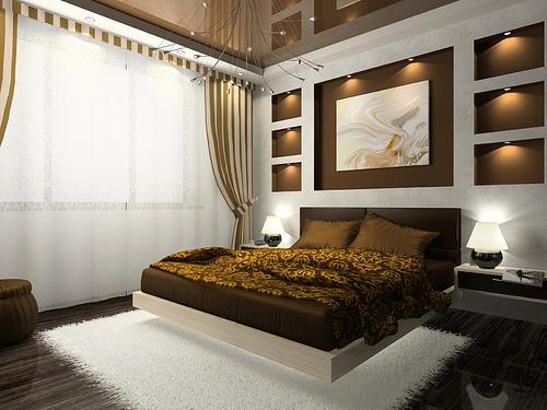 空間デザインの子供の寝室