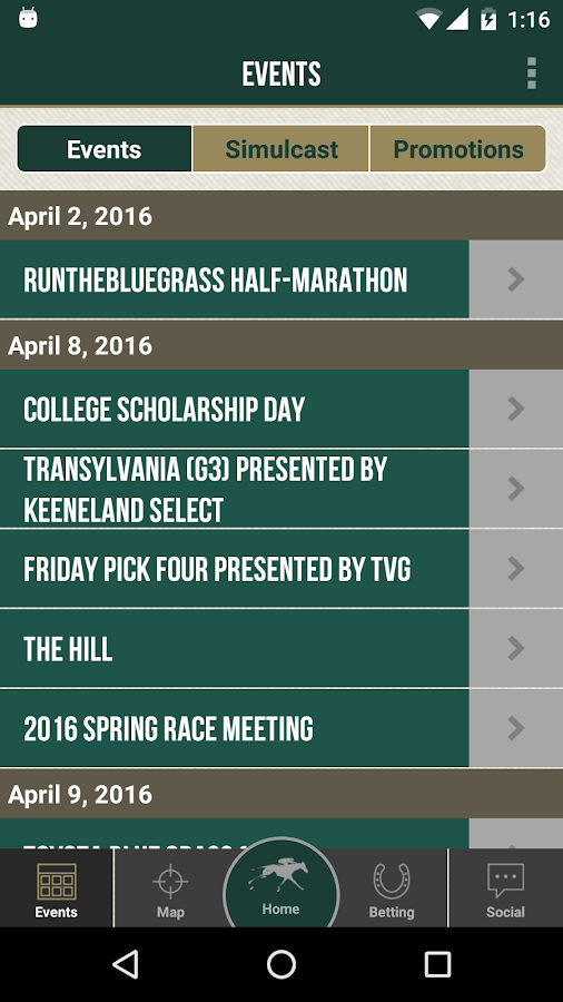 Keeneland Race Day- screenshot