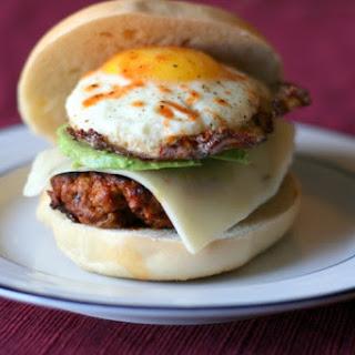 Chorizo and Egg Breakfast Sandwich