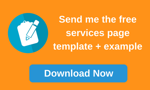 Services page template