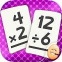 Multiplication and Division Flashcard Math Games icon