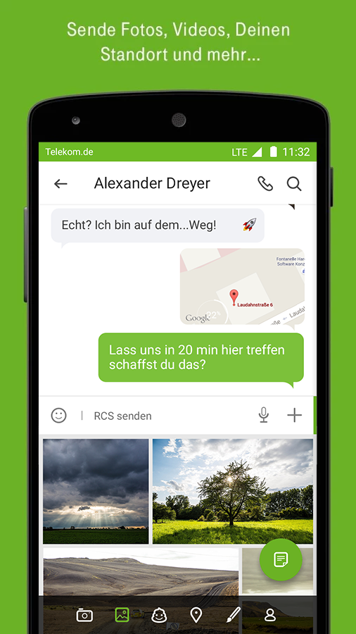 Telekom Message+ (RCS) – Screenshot
