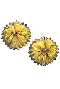 Guld Metallic Glob New Year, 2st