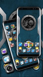 Mechanical Metal Themes HD Wallpapers 3D icons 1.0 Mod APK (Unlock All) 3