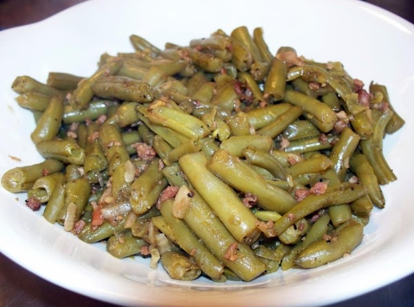 Quick Hearty Green Beans Recipe