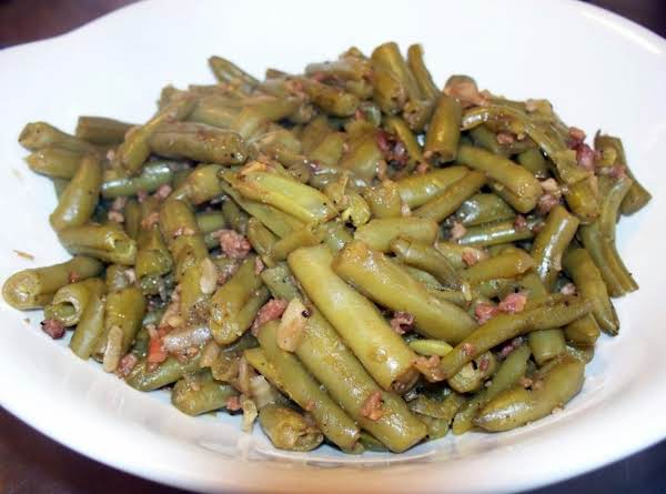 Quick Hearty Green Beans