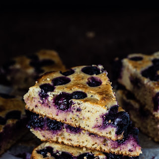 Lemon Blueberry Ricotta Cake