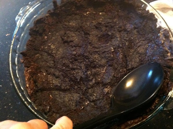 REMOVE BROWNIES 5 MINUTES B4 TOTALLY FINISHD BAKN N TAKE A LARGE SPOON N...