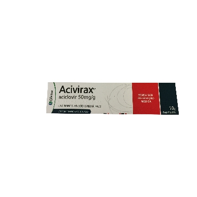 aciclovir acivirax 50mg 10g crema hospitalaria