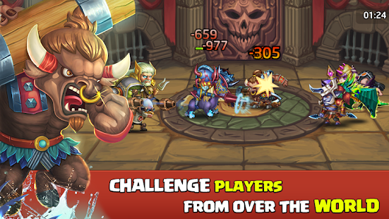 How to hack Heroes Legend for android free