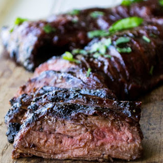 Cherry Habanero BBQ Flank Steak Recipe