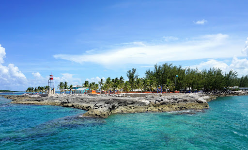 Coco-Cay-Island.jpg - At CocoCay island in the Bahamas, cruisers can snorkel, kayak, jet-ski, have fun at an aqua park, do a nature walk and more.