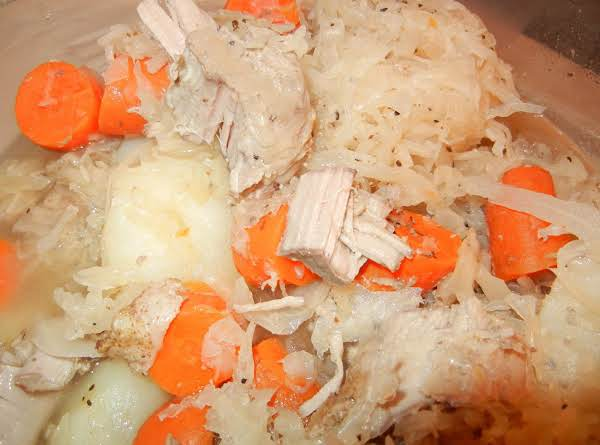 Pork And Sauerkraut-connie's Recipe