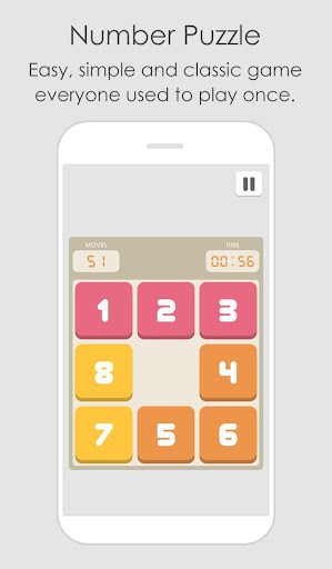 Number Puzzle - Slide Block