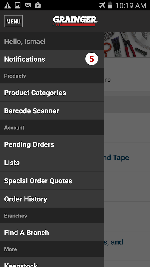 W.W. Grainger, Inc. - screenshot