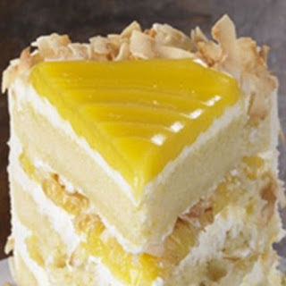 Lemon Coconut Cake.