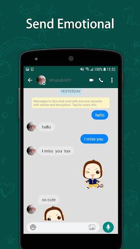 Profession fake message chat 1.0.4 screenshots 1