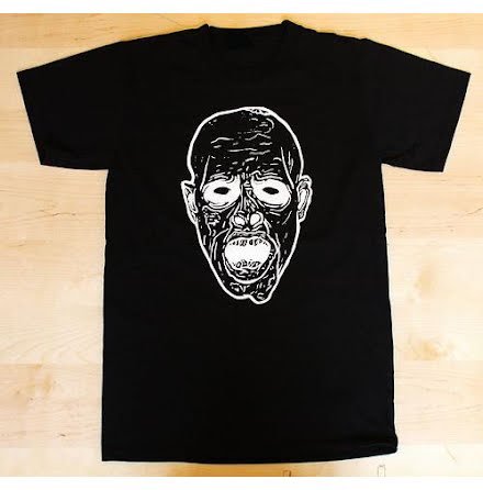 T-Shirt - Face - Svart/Vit