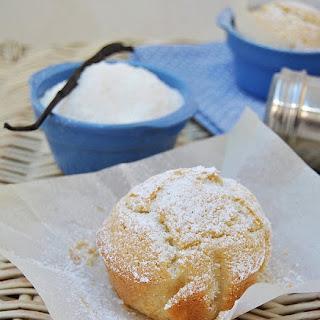 Coconut Vanilla Muffins.